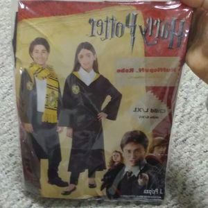HALLOWEEN HARRY POTTER HUFFLEPUFF ROBE